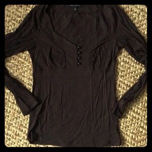 BR Chocolate long sleeve shirt